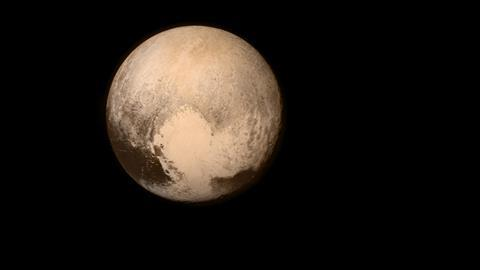 An image showing Pluto