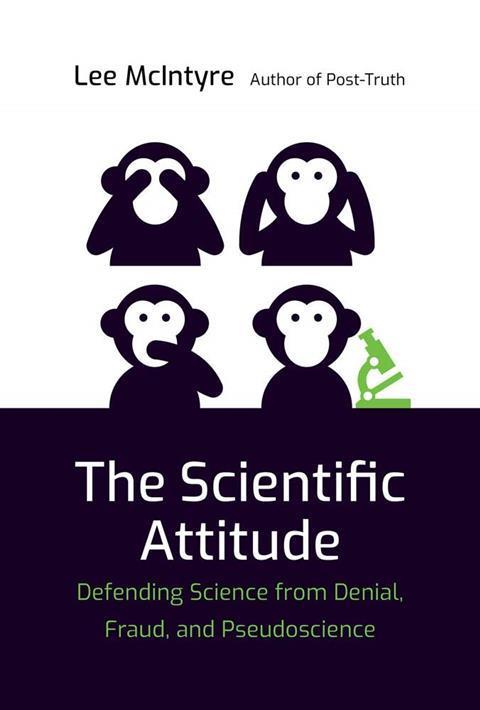 A picture of the book cover of The scientific attitude