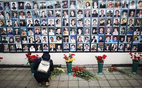 15th anniversary of 2002 Nord-Ost hostage crisis in Moscow