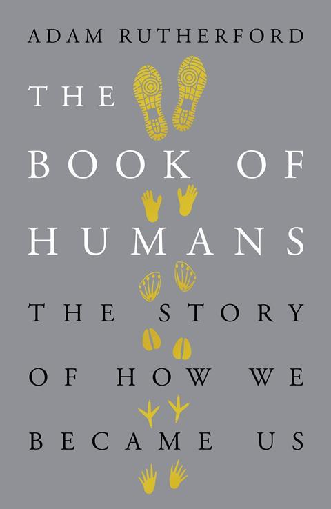 A picture of the Book of Humans Book Cover