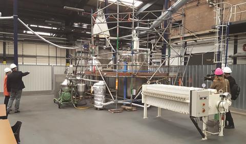 Ioniqa's recycling process