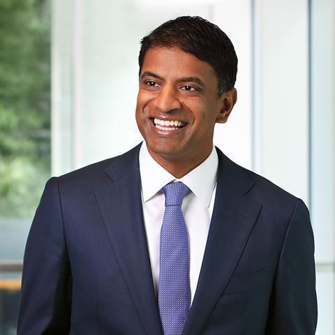 Vasant Narasimhan M.D. CEO of Novartis
