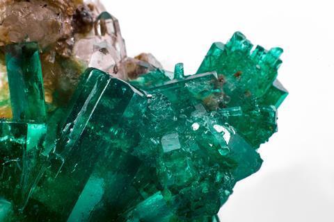 Uncut emerald