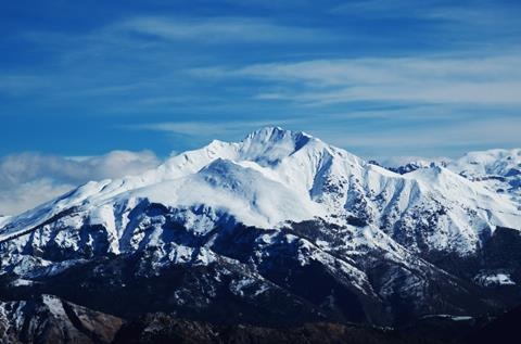 A photograph of Mount Cima di Menna, Lombardy, Italy