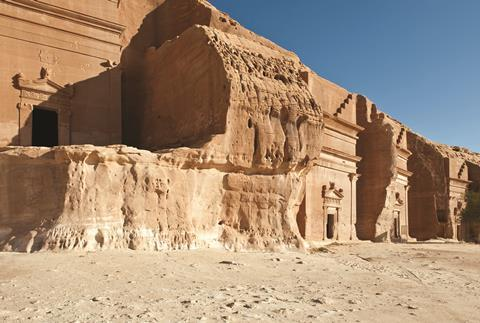 Madain Saleh, Nabatean Tombs in Saudi Arabia