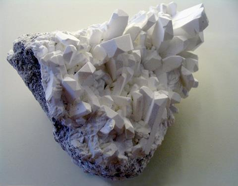 Borax crystals from Kramer, California, USA.