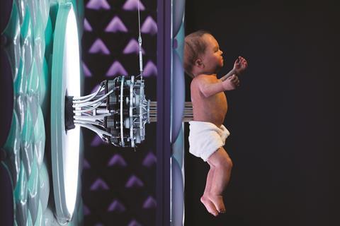 Animatronic baby