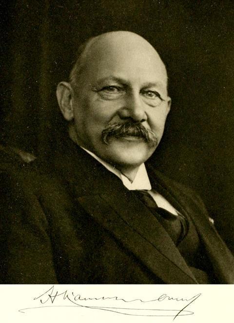 Heike Kamerlingh Onnes (1853 –1926)