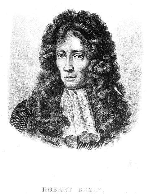 Portrait of The Honourable Robert Boyle (1627 - 1691)