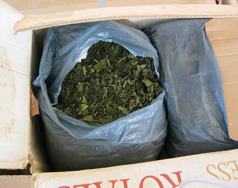 Shipment of Khat seized by US officials