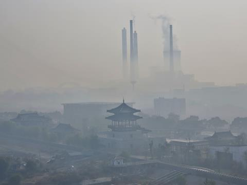 China pollution factory shutdowns