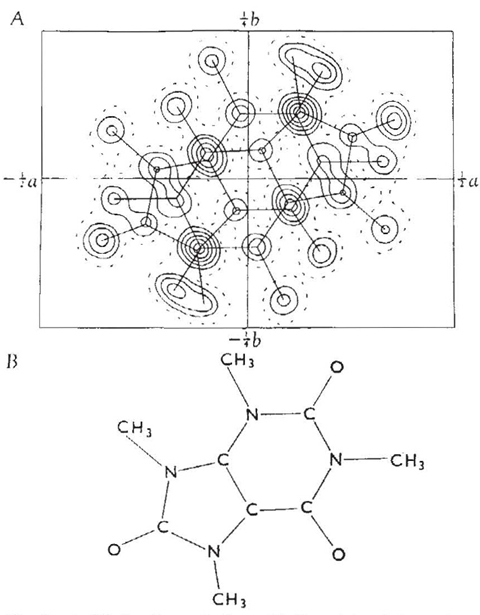 An image taken from June Sutor's hydrogen bonding paper
