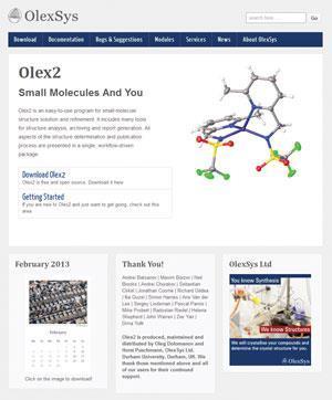 OLEX2 v1 2 1   Review   Chemistry World
