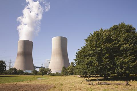 Coal-fired power plant in Germany, North Rhine-Westphalia, Hamm