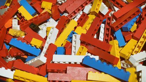 Old lego bricks