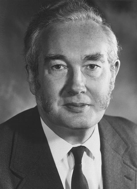 Derek Barton, RSC President portrait