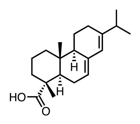 Abietic acid chemical structure