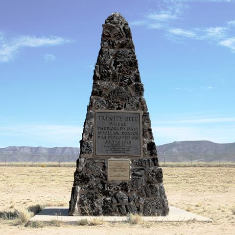 Trinity Site Obelisk National Historic Landmark