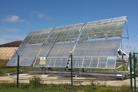 Solar steam prototype - Index