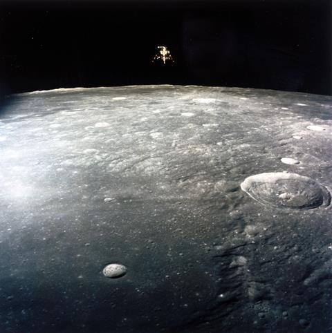 An image showing the Apollo 12 lunar module