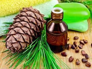 pine cone and cedrol