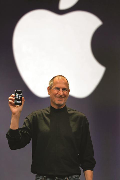Steve Jobs iPhone launch 2007