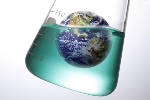 World in a flask