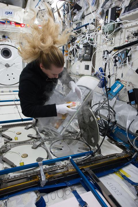 Experiments onboard ISS