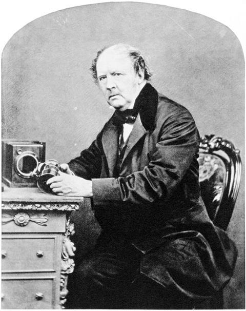 William Henry Fox Talbot by John Moffat, 1864