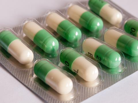 fluoxetine tablets in blister packaging