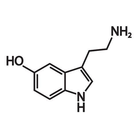 Serotonin structure