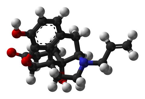 Naloxone structure