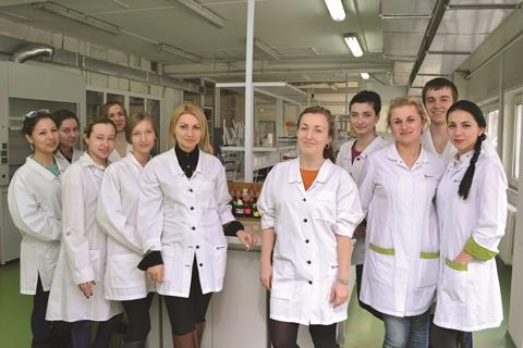 Chemistry department at the exiled university in Vinnytsia