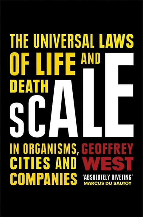 Scale – Geoffrey West