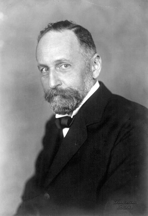 Portrait of Richard Willstätter