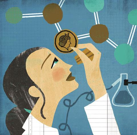 0418CW - Business Feature - Clinical research concept illustration