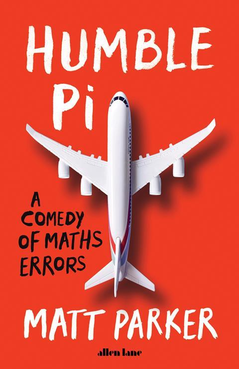 A picture of the cover of Humble Pi
