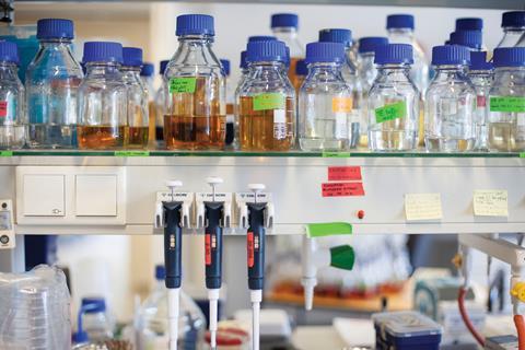 Equipment and supplies at VIB-KU Leuven Center for Microbiology
