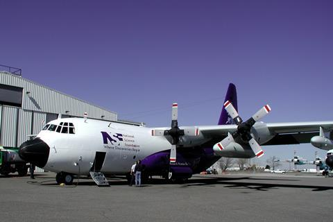 NSF's C-130 aircraft is instrumental in the project to study wildfire smoke.
