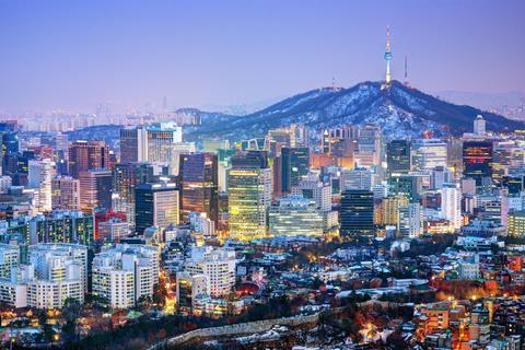 Seoul city scape