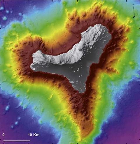 submarine volcano, Tagoro