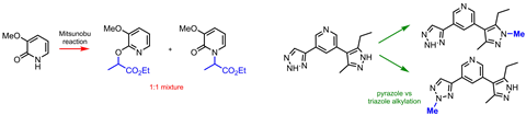 A scheme showing alkylation