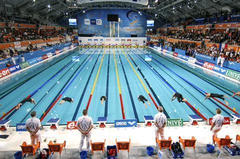 European Swimming Championship, in Eindhoven