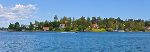 Water fronts on the north-western coast of Resarö island, June 2012