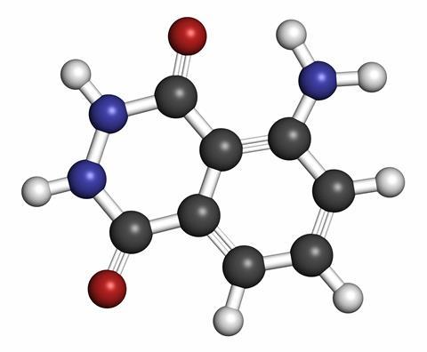Luminol molecule