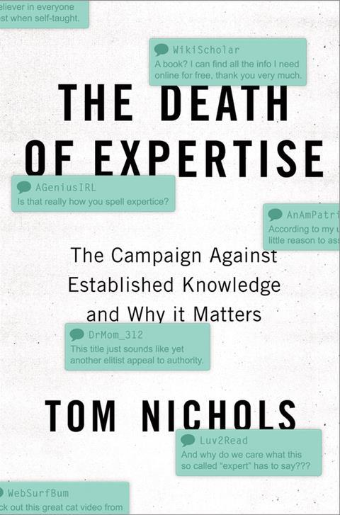 The death of expertise - Main