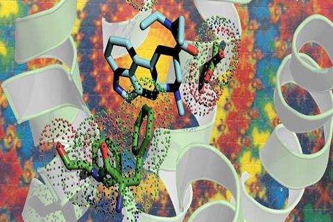 LSD bound to receptor structure solved - 1