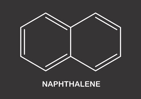 Naphthalene formula illustration