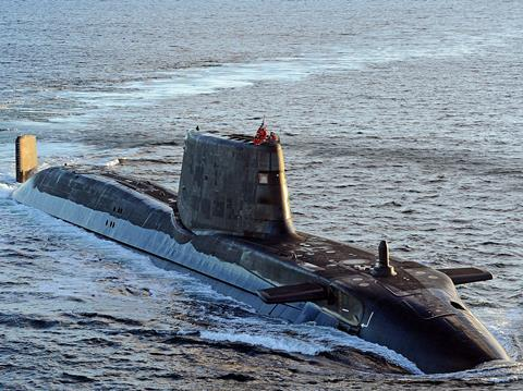 HMS Ambush in 2012