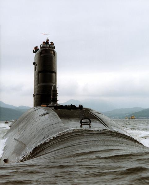 HMS Spartan in 1993